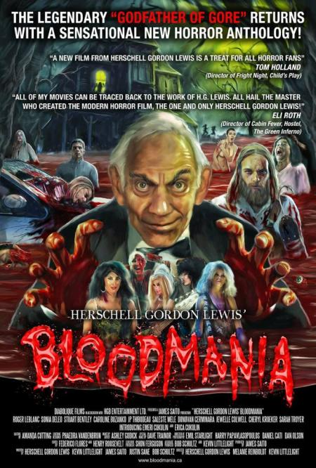 Official Bloodmania Poster